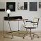 bureau en bois / en acier / contemporain / avec rangement intégré