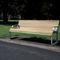 banc public / contemporain / en bois / en aluminium