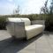 canapé design original / en cuir / en acier inoxydable / pour hôtel