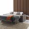 Canapé lit / contemporain / en velours / en cuir ELEVEN : AUTOMATIC SOFA BED Divani Santambrogio