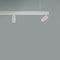 éclairage sur rail à LED / rond / en aluminium peint / pour commerce