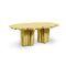 table design original / en laiton brossé / dorée