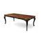 table design nouveau baroque / en bois / rectangulaire