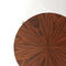 table d'appoint contemporaine / en acajou / en bois de rose / en palissandre