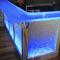 meuble bar professionnel / contemporain / en verre / lumineux