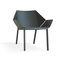 fauteuil contemporain / en aluminium / de jardin