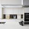 cuisine contemporaine / en bois laqué / en Solid Surface / en stratifié