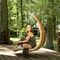 balancelle de jardin en bois / pour hôtel / pour bureau / pour établissement public