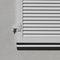 volet à lames / fixe / en aluminium / pour fenêtre