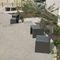 Chaise contemporaine / en acier thermolaqué / pour espace public / d'extérieur GIRO ACCENTURBA