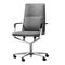 fauteuil de bureau contemporain / en tissu / en cuir / aluminium