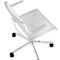 Chaise de conférence tapissée / avec accoudoirs / à roulettes / pivotante ALINE by Andreas Störiko Wilkhahn