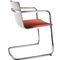 Chaise visiteur contemporaine / avec accoudoirs / tapissée / empilable NEOS by Wiege Wilkhahn