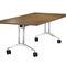 Table d'enseignement contemporaine / en aluminium / rectangulaire / à roulettes TIMETABLE SHIFT by Andreas Störiko Wilkhahn
