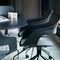 Chaise visiteur contemporaine / avec accoudoirs / tapissée / piètement étoile OCCO by Jehs+Laub Wilkhahn