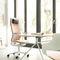 chaise de bureau contemporaine / à roulettes / avec repose-tête / avec dossier haut