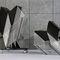 Chaise visiteur contemporaine / avec accoudoirs / tapissée / empilable ALINE by Andreas Störiko Wilkhahn