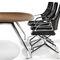 Chaise de bureau contemporaine / à roulettes / avec accoudoirs / piètement étoile GRAPH by Jehs + Laub Wilkhahn