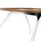 Table de conférence contemporaine / en bois / ovale / courbée GRAPH by Jehs+Laub Wilkhahn