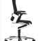 fauteuil de direction contemporain / en cuir / en tissu / à roulettes