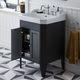 meuble vasque à poser / en bois / classique