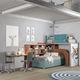 lit mezzanine / simple / contemporain / pour enfant (unisexe)