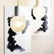 lampe suspendue / design minimaliste / en céramique / fait main