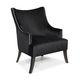 fauteuil classique / en cuir / en acajou / en chêne