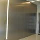 porte intérieure / pour dressing / battante / en aluminium