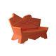 canapé design original / d'extérieur / en plastique / par Alessandro Mendini