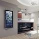 radiateur à eau chaude / en verre / contemporain / rectangulaire