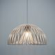 lampe suspension / contemporaine / en papier / en bois