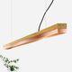 suspension / design minimaliste / en cuivre / en chêne