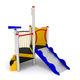 structure de jeu en PEHD / en inox / en acier galvanisé / pour aire de jeux