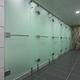 cabine sanitaire pour douche pour sanitaire public / en verre