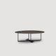 table basse / contemporaine / en métal / ronde