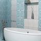 carrelage de salle de bain / mural / en céramique / poli