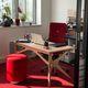 bureau en bois vernis / contemporain / professionnel