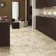 carrelage pour sol / en grès cérame / poli / aspect marbre