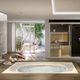 spa encastrable / carré / 6 places / d'intérieur
