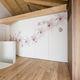 cloison coulissante-empilable / en bois / résidentielle / décorative