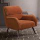 fauteuil contemporain / en tissu / en chrome