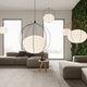lampe suspension / contemporaine / en aluminium / dimmable