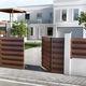 clôture de jardin / à panneaux / en aluminium