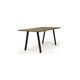 table à manger contemporaine / en chêne / en noyer / rectangulaire