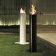 cheminée au bioéthanol / contemporaine / à foyer ouvert / centrale