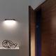 applique murale contemporaine / en bois / à LED / linéaire