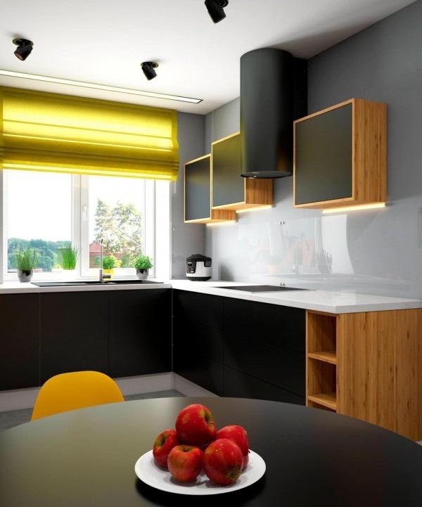 2 Maisons Lumineuses Avec Des Accents Jaunes Énergiques