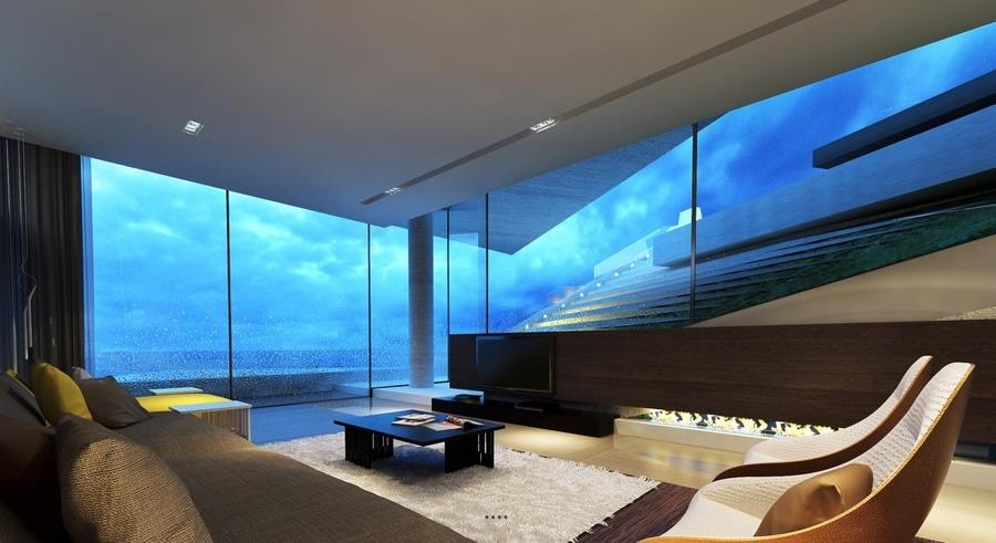 26 salles de séjour qui mettent une rotation unique sur ce que moderne signifie