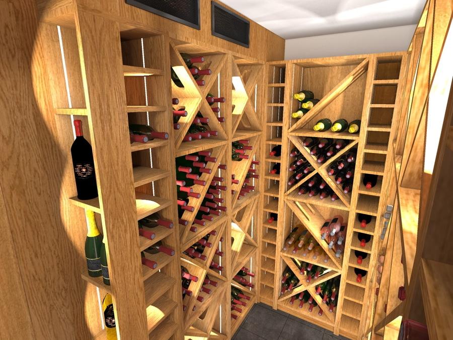 Amnagement DUn Cagibi En Cave  Vin SurMesure  Paris  Paris